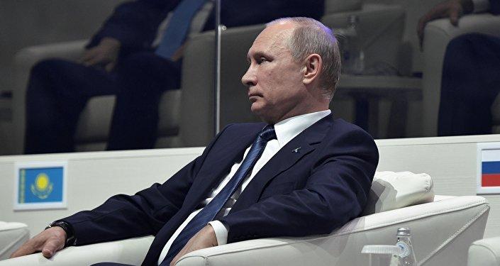 УФ президент Владимир Путин. Архивон къам