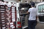 Цхинвальский кофемобиль: горожане впервые предлагают кофе с колес