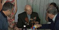 Вековой юбилей: ветеран из Южной Осетии принимал поздравления от главы государства