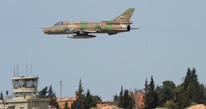 Истребитель сирийских военно-воздушных сил