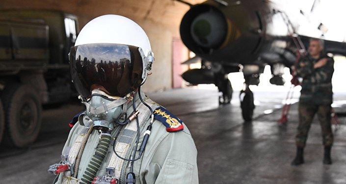 Пилот сирийских военно-воздушных сил