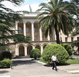 Дом правительства Абхазии в Сухуме