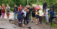 Режим ЧС в Северной Осетии
