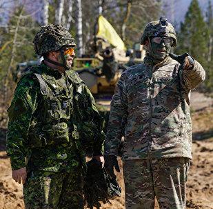 Военнослужащие США на международных военных учениях Summer Shield XIV в Латвии