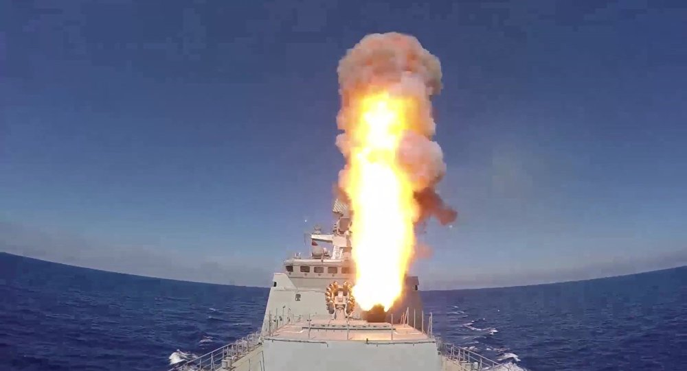 Удар сморя ивоздуха: ВМФ иВКС атаковали террористов вСирии