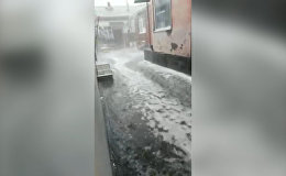 Град во Владикавказе: съемки очевидцев