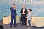 Битаров встретился с молодежью республики