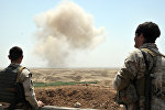 Работы по поиску и удалению мин ИГ в провинции Киркук в Ираке