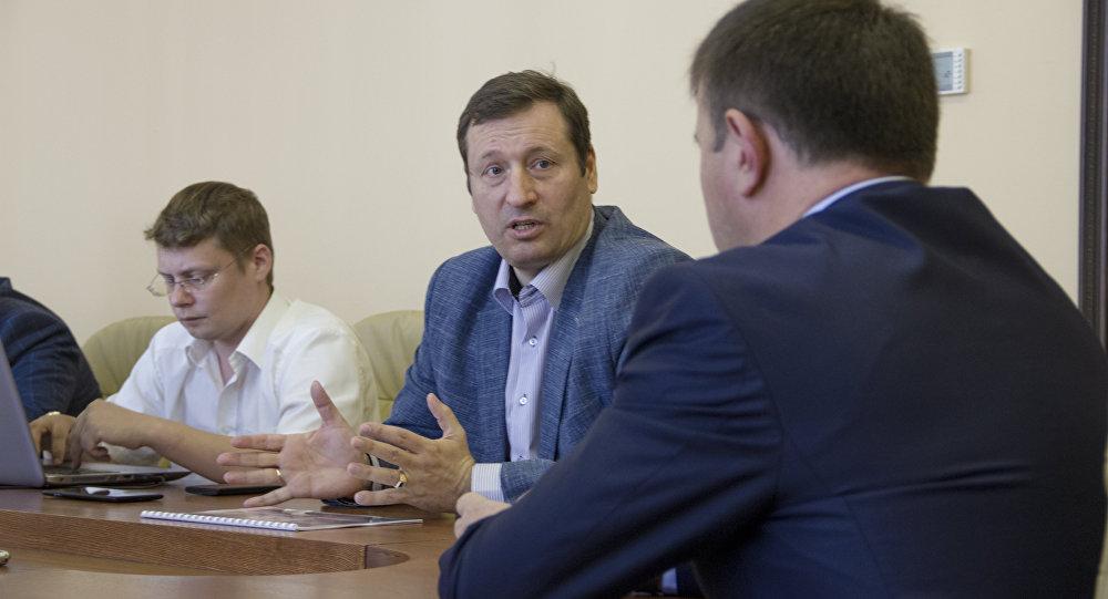 Встреча автора проекта Башни Кавказа с представителями властей Южной Осетии
