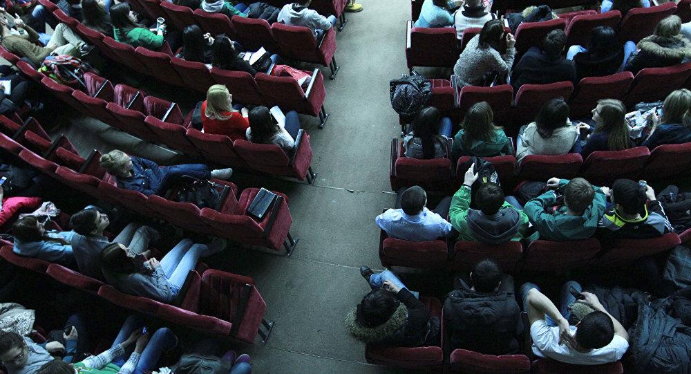 В аудитории вуза