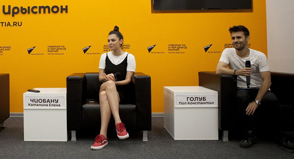 Музыканты группы Radio Killer в пресс-центре Sputnik