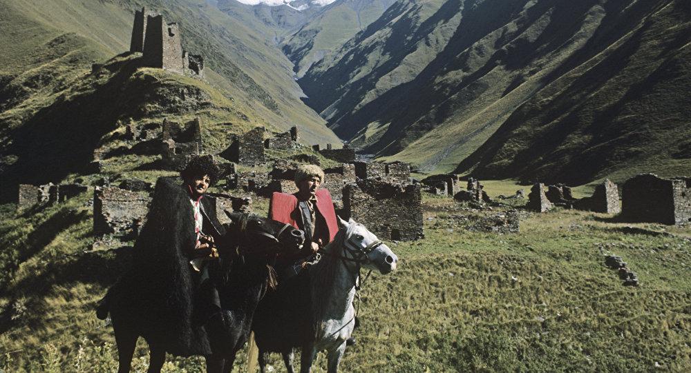 Всадники на Кавказе