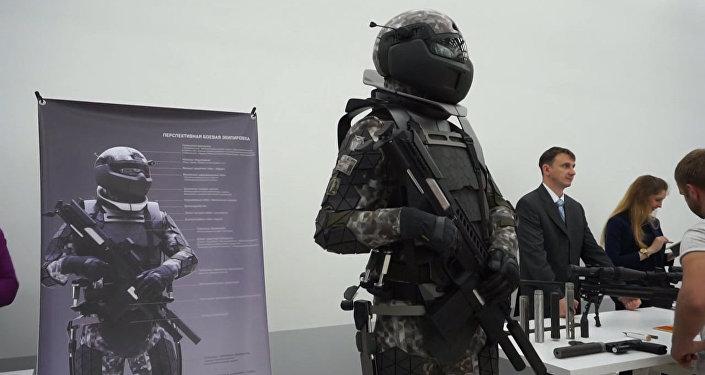 """Как выглядит экипировка """"солдата будущего"""""""