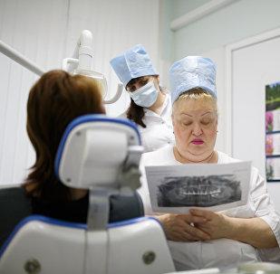 Работа клинической стоматологической поликлиники