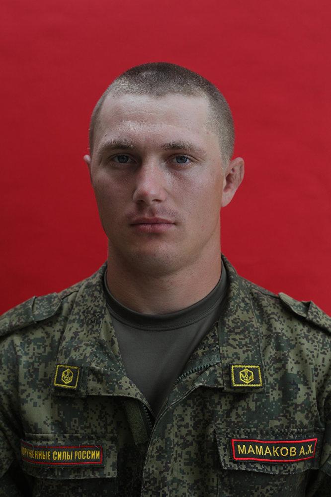 Военнослужащие 58-й армии в Северной Осетии