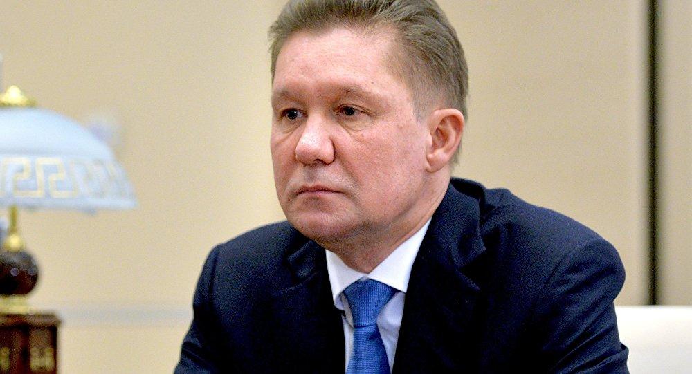 Газпром-ы сӕргълӕууӕг Алексей Миллер