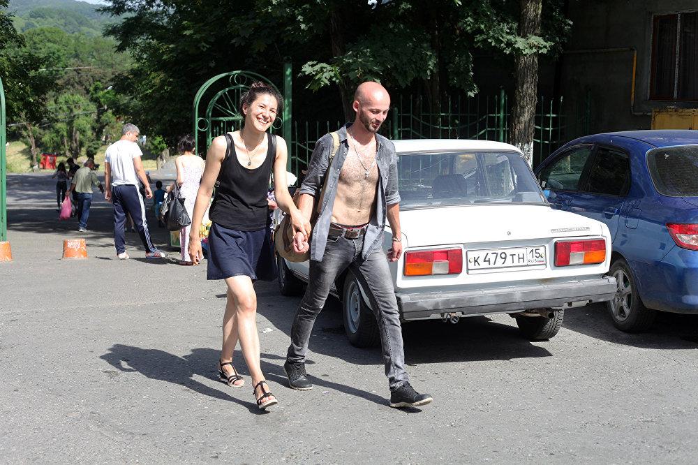Жара во Владикавказе