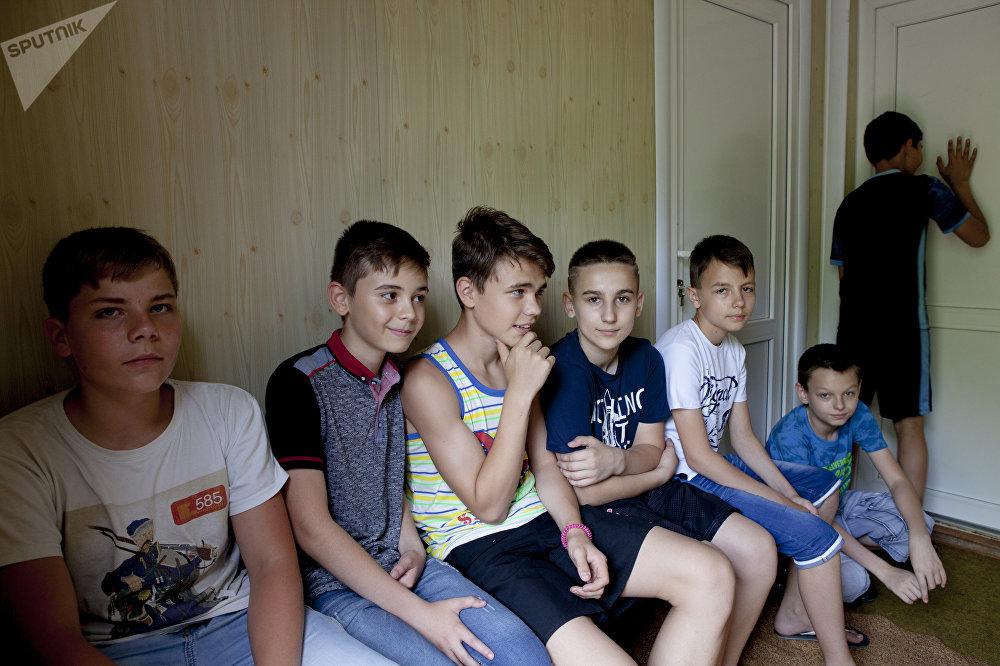 Детский лагерь для детей из ДНР