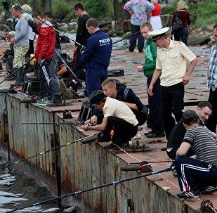 Открытый чемпионат по спортивному рыболовству во Владивостоке