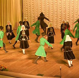 Ансамбль СИМД выступил с концертом в Абхазии