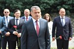 Визит президента Южной Осетии в Абхазию