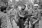 Члены вооруженных формирований Грузии