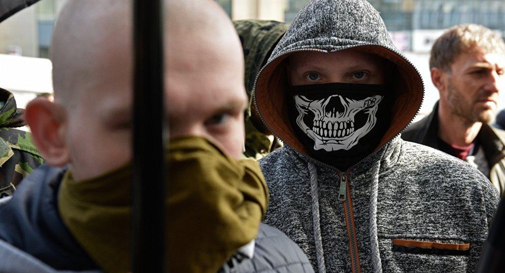 Акция радикалов в Киеве