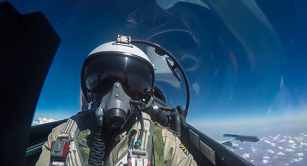 пилот ВКС РФ