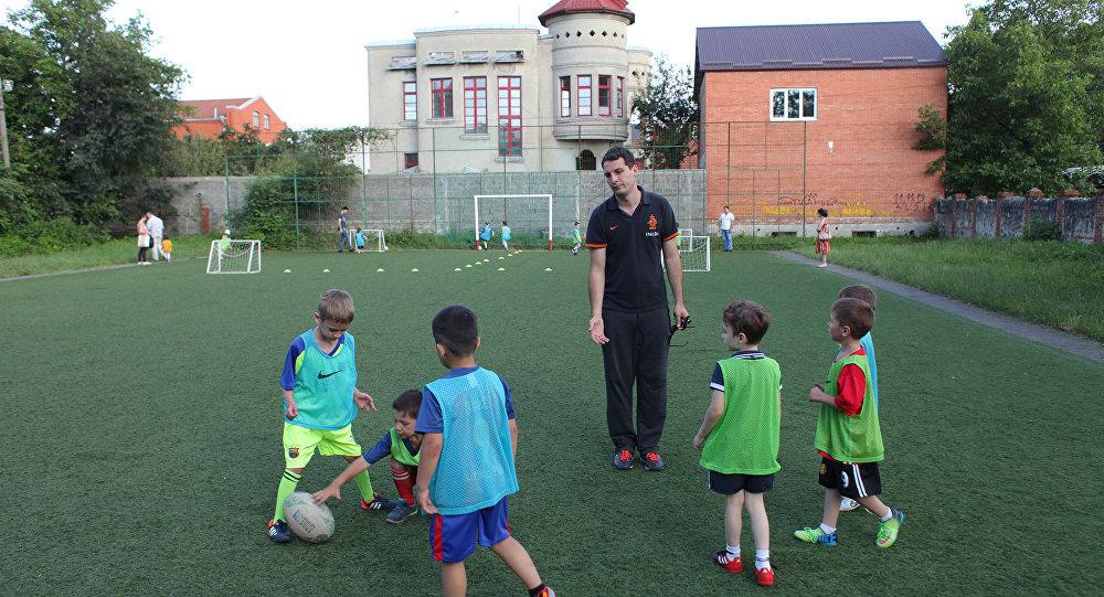 Школа европейского футбола во Владикавказе