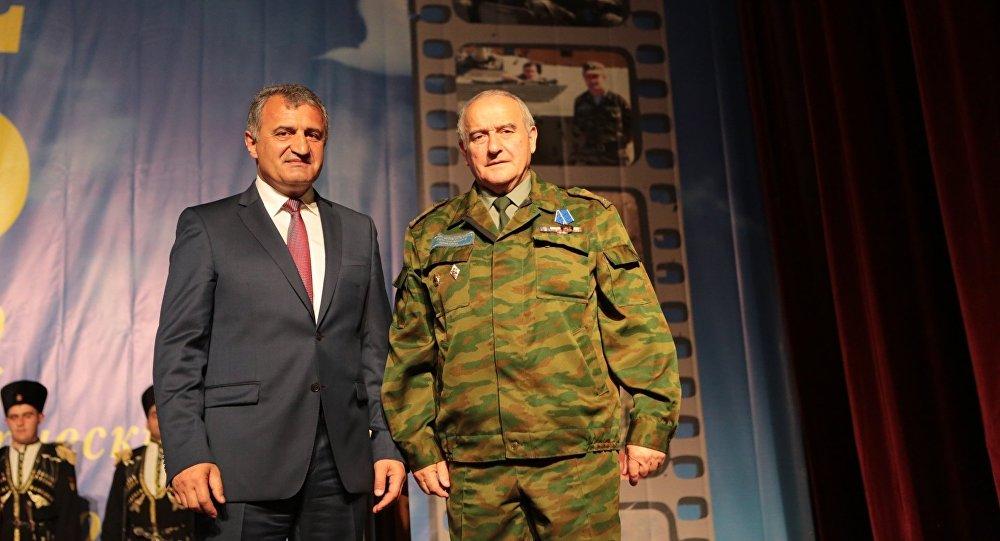 Награждение бывших военнослужащих ССПМ