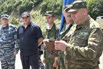 Как чествовали миротворцев в Южной Осетии