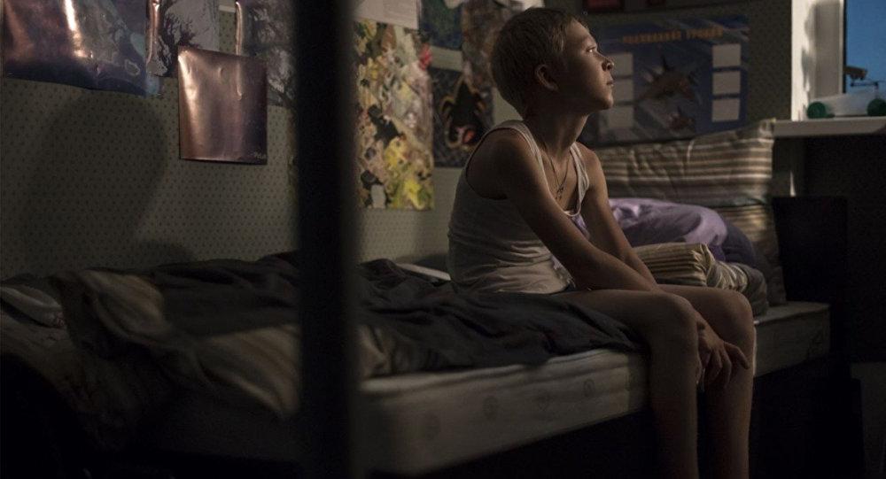 Кадр из фильма Нелюбовь