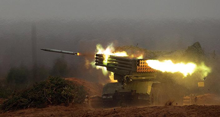Боевые стрельбы из ракетно-артиллерийского вооружения