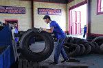 завод по переработке шин