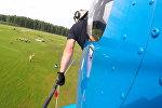 Этап Кубка мира по вертолетным гонкам впервые прошел в России