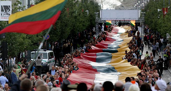 Марш в Литве