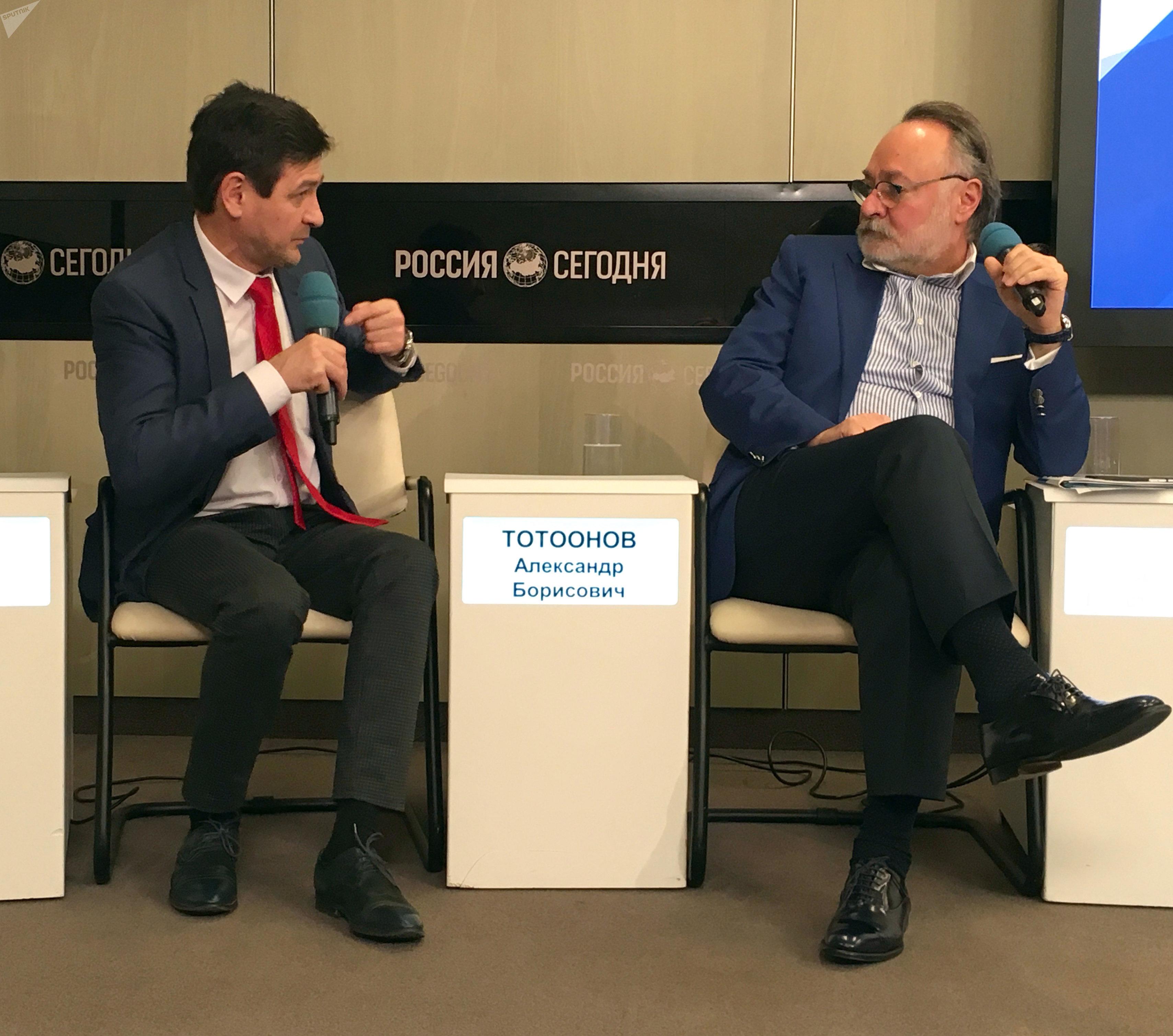 Александр Тотоонов в МИА Россия сегодня