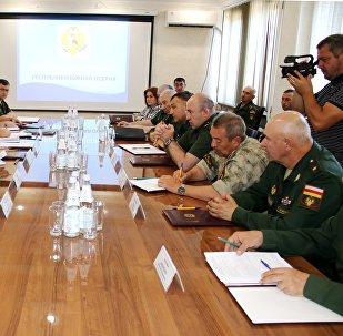 Встреча рабочих групп МО Южной Осетии и России