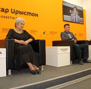 Жанна Зассеева и Петр Гассиев
