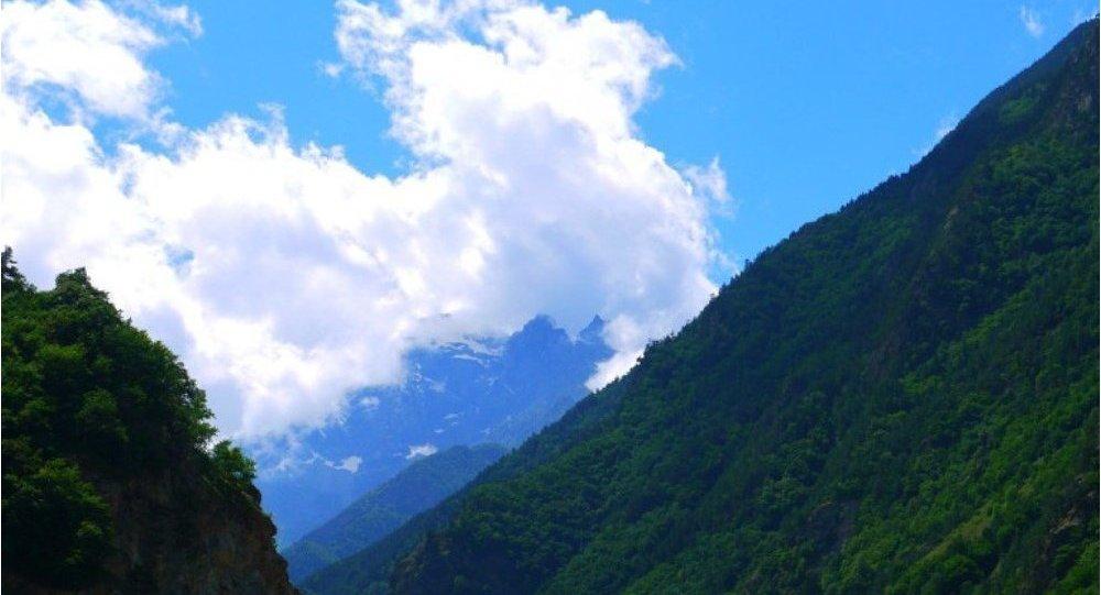 Горы Осетии