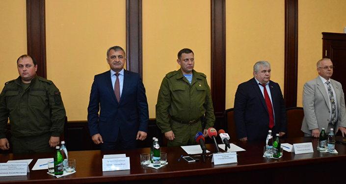 Рабочий визит президента РЮО в ДНР
