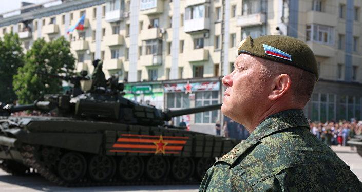 Начальник управления Народной милиции ЛНР Олег Анащенко