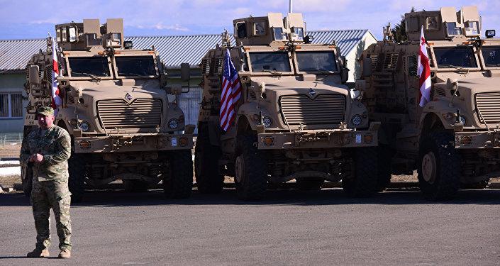 Военная техника НАТО в Грузии
