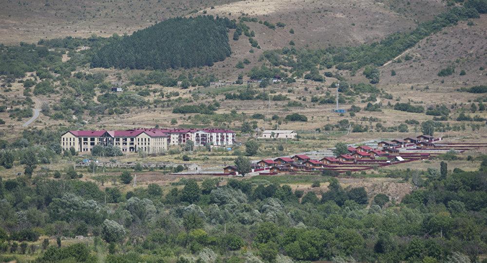 Район Хурзарин города Цхинвала на северней окраине города.