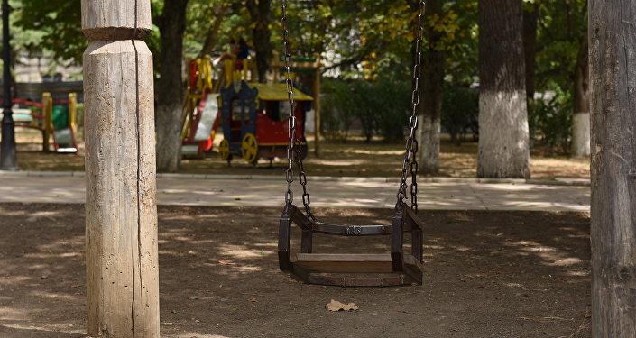 Пионерский парк в Цхинвале