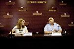 Пухаты Радион пресс-конференцийы Цхинвалы