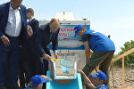 Путин выпустил мальков в Байкал