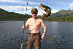 Отдых Путина: подводная охота на щуку и рыбалка