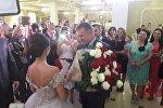 Аманду Кокоеву наградили Орденом Дружбы на ее свадьбе