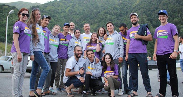 Участники проекта Маяки дружбы приехали в Южную Осетию